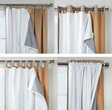Thinsulate Insulating Curtain Liner Pair by Thermalogic Ultimate Blackout Insulated Curtain Liner Crafting