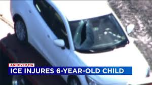 100 Girls On Trucks Ice Sails Off Truck Hits Car Injuring Young Girl FOX 61