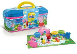 canal toys ct01204 pâte à modeler peppa pig la mallette