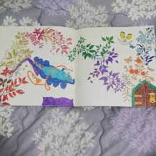 The Garden Colouring Book This Is Page 9 And 10 Rainbows 3 Alice
