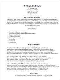 Case Worker Resume Template Best Design Tips Myperfectresume Within Professional Summary