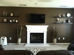 home design decorating living room with brown walls room
