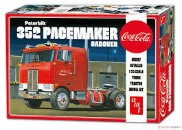 Peterbilt 352 Pacemaker Cabover, AMT AMT1090 (2017)