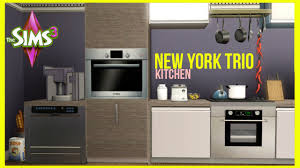 Cool Sims 3 Kitchen Ideas by The Sims 3 New York Trio Kitchen Part 14 Youtube