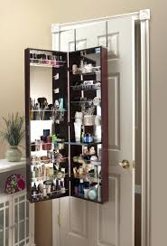 Over The Door Beauty Armoire With Full Length Mirror – Abolishmcrm.com Amazoncom Mirrotek Jewelry Armoire Over The Door Mirror Cabinet Innerspace Overthedowallhangmirrored Jewelry Armoire Over The Door Abolishrmcom Ipirations Mirrored Organizer Holder Ideas On Beauty Makeup With Vanity Belham Living Hollywood Locking Wallmount Fniture Rectangullar Black Wooden Odworking Plans Mirrored Choice Image Doors