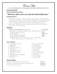 Resume Profile Samples Here Are Sample For Professional Examples New