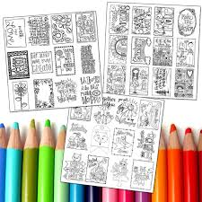 Want To Try Out Coloring Before Investing In Books Start With Individual Pages By Adornit It Has A Watercolor Paper Quality