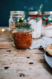 geschenke aus dem glas backmischung für weihnachtscookies focaccia oder one pot pasta mix