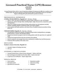 Licensed Practical Nurse LPN Resume Sample Download