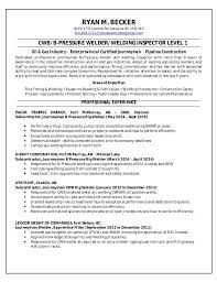 Resume For Welders Welding M Rd Welder Objective Samples