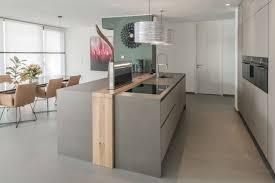 moderne küche mit griffloser front contemporary kitchen