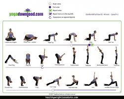 Yoga Asanas With Pictures And Names