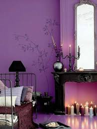 Wall Decals Inspired By Nature Luxury Purple Bedroom
