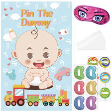 017 Baby Shower Games Printable Word Scramble Panda Who