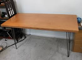 How to Build an Inexpensive Mid Century Desk in a Weekend