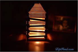 Popsicle Stick Lamp Dip Feed 15