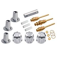 Who Makes Sayco Faucets by Danco 39615 3 Handle Valve Tub Shower Trim Kit For Gerber Chrome