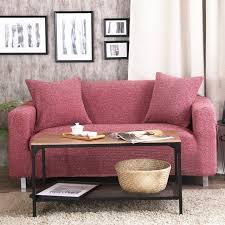 recouvre canapé vin meubles étirer la couvre tricoté tissu canapé d angle