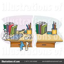 Organized Desk Clipart ClipartXtras