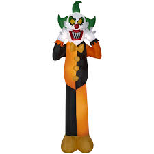 Halloween Airblown Inflatables Uk by Airblown Inflatable Clown 12ft By Gemmy Industries Ebay