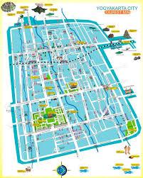 YOGYAKARTA CITY TOURIST MAP