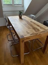 massivholz esstisch kare authentico 160 x 80 in münchen