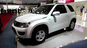 2013 suzuki grand vitara diesel 3 doors exterior and interior
