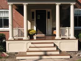 Concrete Porch Steps Front Porch Steps Designs Joy Studio Design