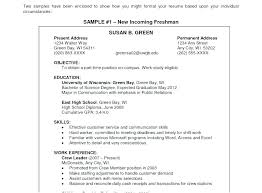 Best Example Resumes Objective Resume Samples Finance Statement