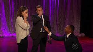 Ellen Degeneres Amy Halloween Horror Nights by Marriage Proposal Turns Into Hilarious Prank On U0027late Late Show