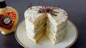 feine eierlikörtorte verpoorten kaffee mohn torte