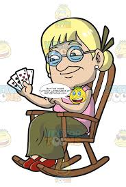 An Old Lady Playing Cards – Clipart Cartoons By VectorToons Hot Chair Transparent Png Clipart Free Download Yawebdesign Incredible Daily Man In Rocking Ideas For Old Gif And Cute Granny Sitting In A Cozy Rocking Chair And Vector Image Sitting Reading Stock Royalty At Getdrawingscom For Personal Use Folding Foldable Rocker Outdoor Patio Fniture Red Rests The Listens Music The Best Free Clipart Images From 182 Download Pictogram Art Illustration Images 50 Best Collection Of Angry