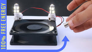 free energy light bulb experiment magnet powe with loop