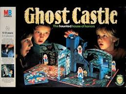 Ghost Castle 1980s Board Game
