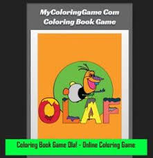 Coloring Book Game Olaf