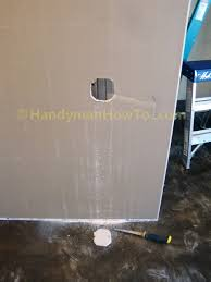 Installing Drywall On Ceiling In Basement by How To Build A Basement Closet Ceiling Drywall