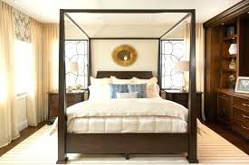 Dark Wood Bedinspiration For A Large Timeless Master Floor Bedroom Remodel In With Beige