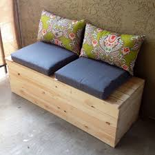 bench seat with storage diy 5 unique ideas for diy storage bench