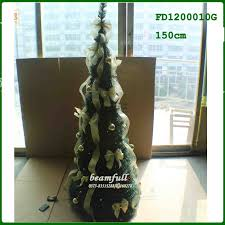Glass Bulbs For Ceramic Christmas Tree by Collapsible Christmas Tree With Lights Collapsible Christmas Tree