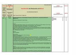 charakteristik des restaurants und befund a2 10 9