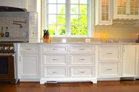 Kitchen Cabinet Island Legs Backsplash With White Cabinets And