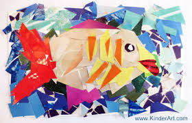 Magazine Mosaics Lesson Plan Recycling For Kids