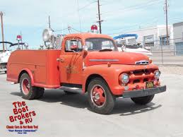 100 Ford Fire Truck 1951 For Sale ClassicCarscom CC1182410