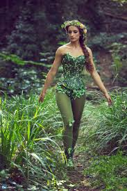 ivy costume corset mother nature for cosplay fancy dress