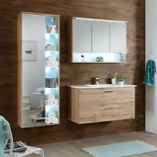 badezimmer set komplett best 5 teilig wildeiche spiegel