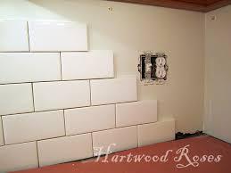 hartwood roses workday weekend tutorial tiling the backsplash