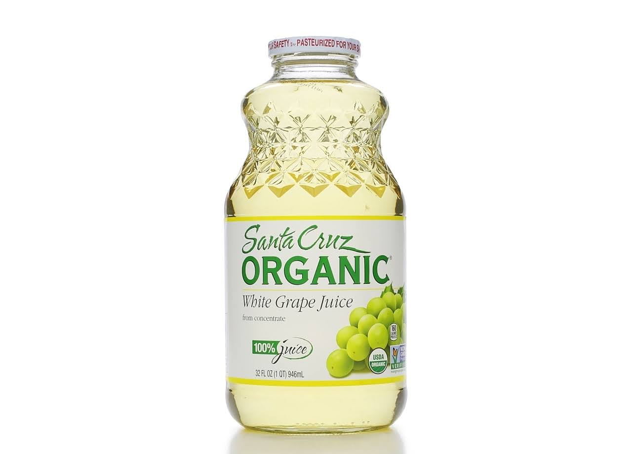Santa Cruz Organic Juice - White Grape, 32oz