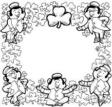 Perfect St Patricks Coloring Pages 97 For Your Seasonal Colouring With