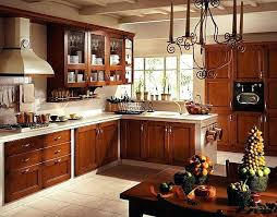 Western Style Kitchen Cabinet Beauty Wood Rustic Knobs