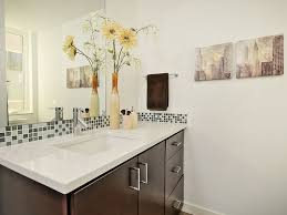 Glass Tiles For Backsplash by How To Choose A Bathroom Backsplash Home Improvement Projects